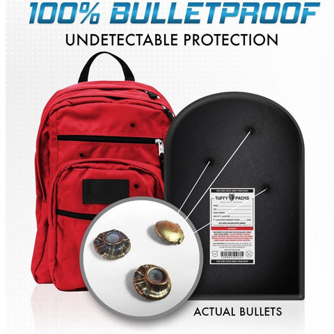 "TuffyPacks© Level 3A Bulletproof Backpack Soft Armor Insert 11"" x 14"""