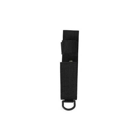 Expandable Solid Steel Baton Flashlight w/ Holster 16''