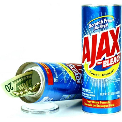 Fake AJAX Powder Cleanser Secret Stash Diversion Can Safe