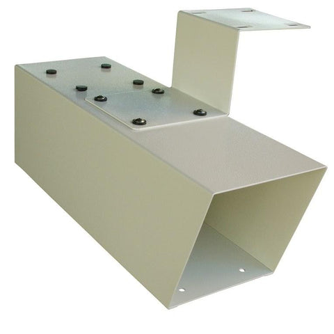 Mail Boss Steel Newspaper Holder Attachment White