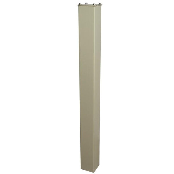 Mail Boss In-Ground Steel Mounting Post 43'' White