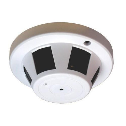 Cone Smoke Detector Hidden Spy Camera 1080p HD WiFi