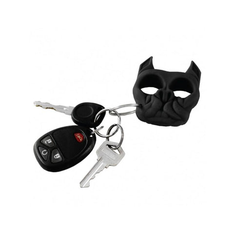 Brutus Bulldog Self-Defense Keychain Knuckle Weapon Black