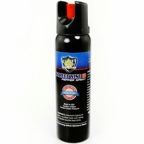 Streetwise™ 18 Twist-Top Police Pepper Spray 4 oz. Stream