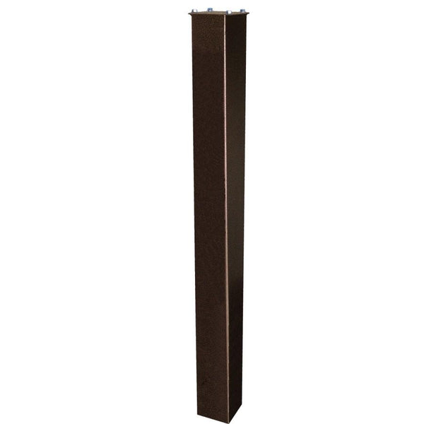 Mail Boss In-Ground Steel Mounting Post 43'' Bronze