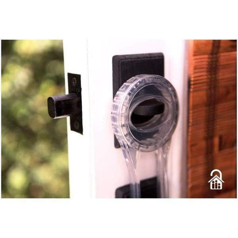 The Lock Locker™ Deadbolt Security Latch Clear