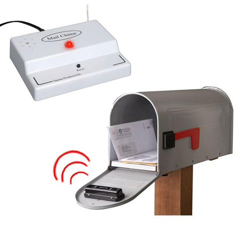 Mail Chime Wireless Audio & LED Alert System