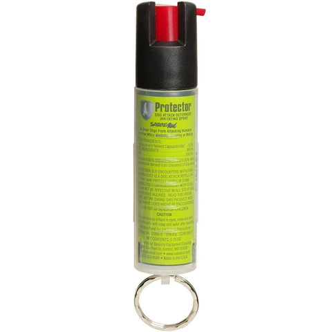SABRE® Red Protector Keychain Dog Pepper Spray 3/4 oz.