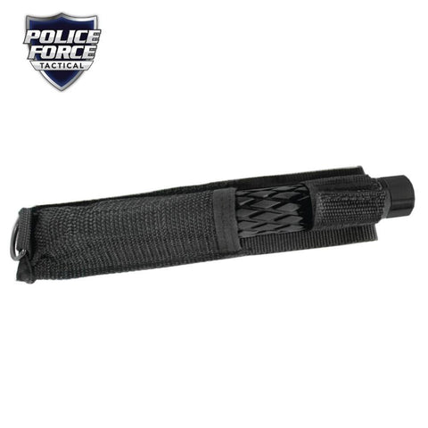 Police Force Tactical Expandable Solid Steel Baton 26''