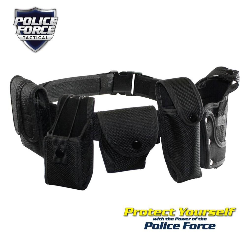 SECURITY POLICE BATON RING HOLDER FOR DUTY BELT #6