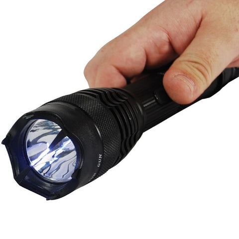 Safety Tech Rechargeable Stun Gun Flashlight 15M
