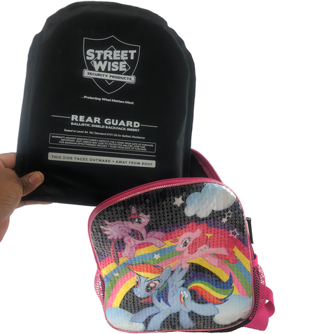 "Streetwise™ Level 3A Bulletproof Backpack Soft Armor Insert 8"" x 10"""