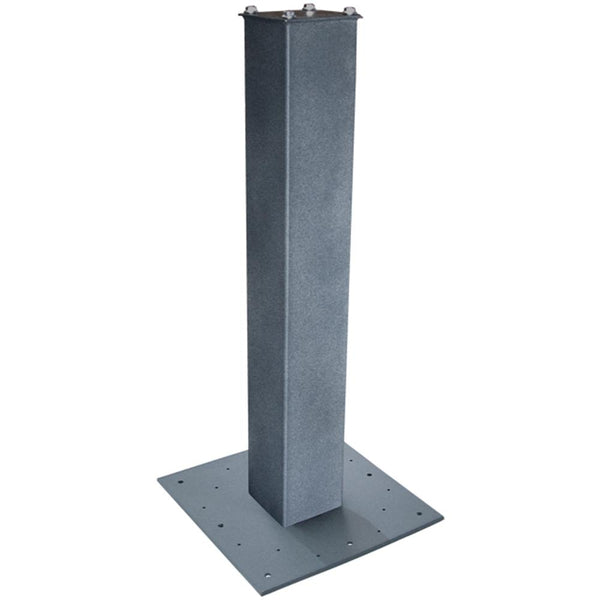 Mail Boss Steel Surface Mount Post 27'' Granite