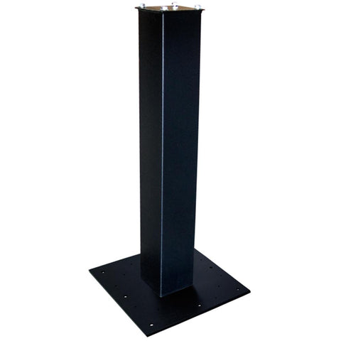 Mail Boss Steel Surface Mount Post 27'' Black
