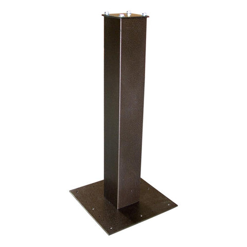 Mail Boss Steel Surface Mount Post 27'' Bronze