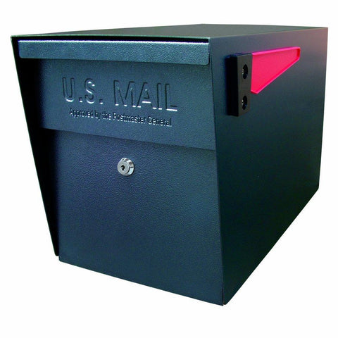 Mail Boss Locking Security Mailbox Safe Black