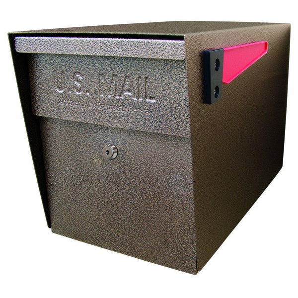 Mail Boss Locking Security Mailbox Safe Bronze