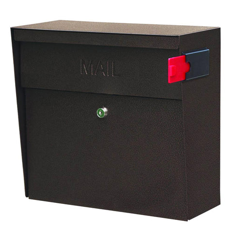 Mail Boss Metro Locking Security Mailbox Safe Bronze