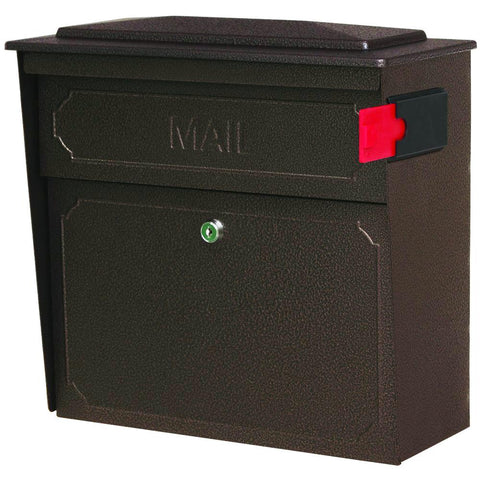 Mail Boss Townhouse Locking Security Mailbox Safe Bronze