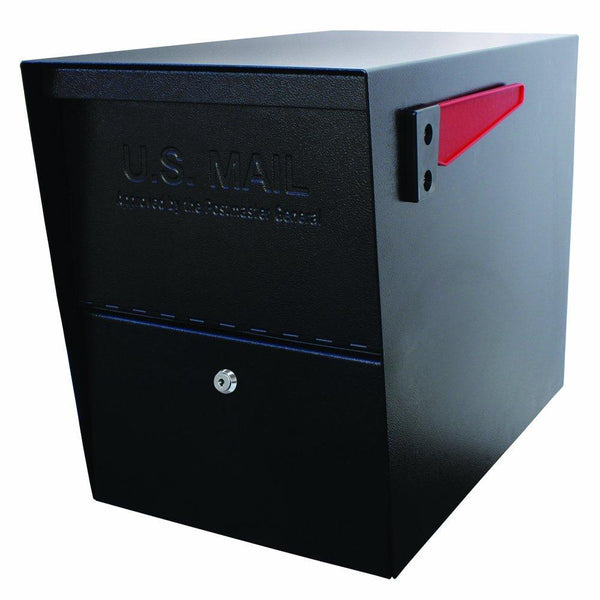 Mail Boss Package Master Locking Mailbox Safe Black