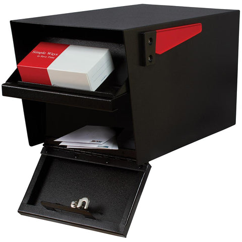 Mail Boss Mail Manager Locking Mailbox Safe Black