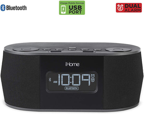 iHome Alarm Clock Night Vision Spy Camera 1080p HD WiFi