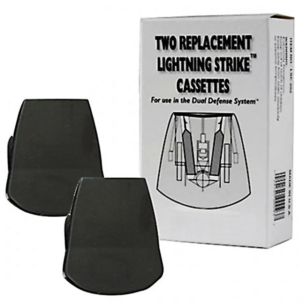 The Dual Defense Lightning Strike Reload Cassette 2 Pack The Home Security Superstore