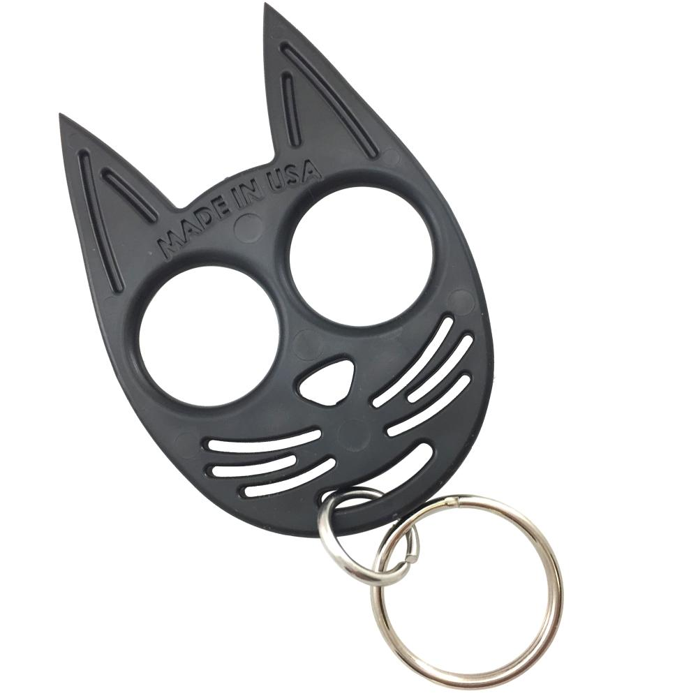My Kitty Plastic Self Defense Keychain Weapon Black The Home Security Superstore