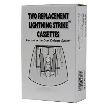 The Dual Defense® Lightning Strike™ Reload Cassette 2-Pack