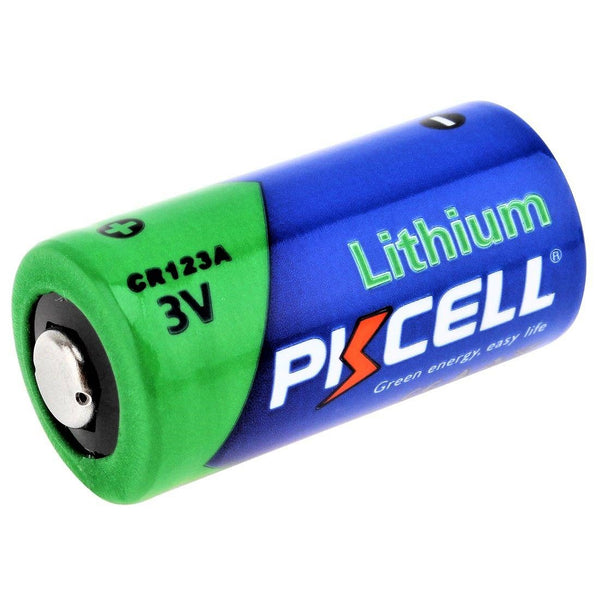 PKCELL 3V Hi-Energy Lithium CR123A Battery