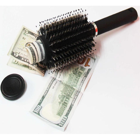 Fake Roller Hair Brush Secret Stash Diversion Safe