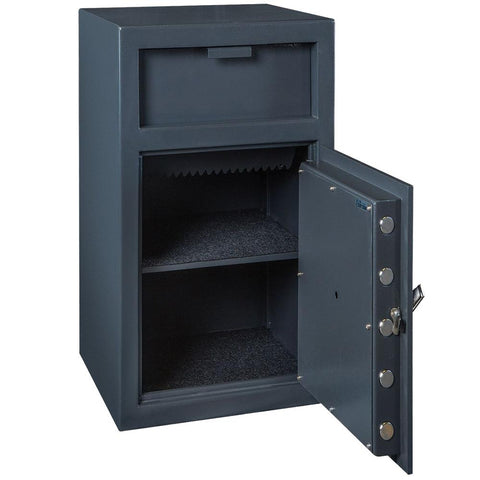Hollon 2714K B-Rated Key Lock Drop Depository Safe