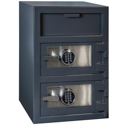 Hollon 3020EE B-Rated Dual Keypad Drop Depository Safe