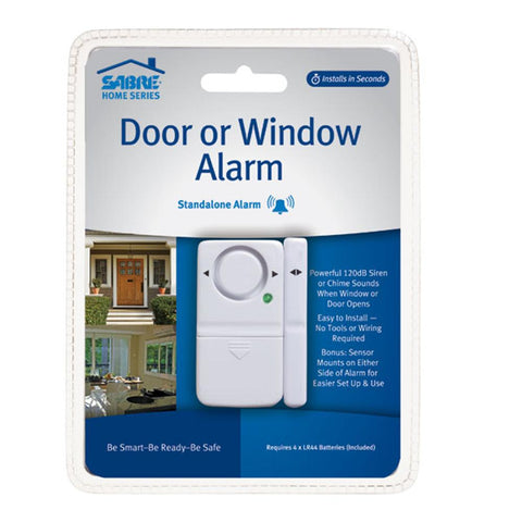 SABRE® Magnetic Contact Door / Window Alarm 120dB