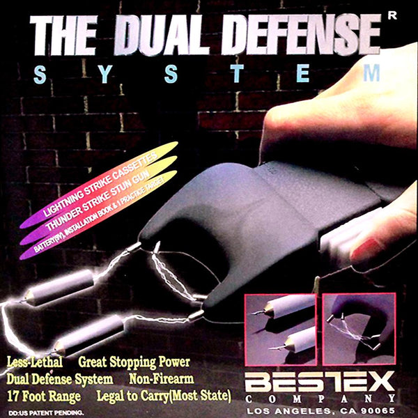 The Dual Defense® System Shooting Stun Gun