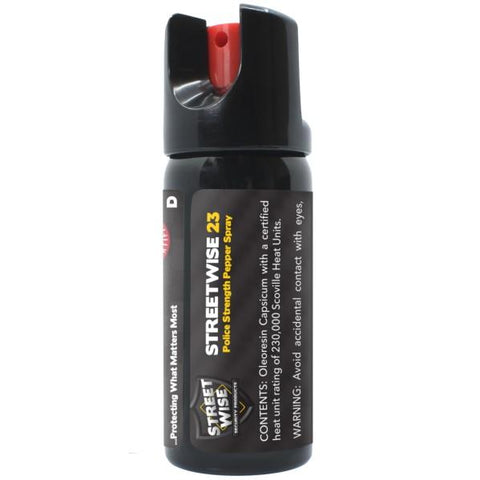 Police Force Tactical 23 Twist-Top Police Pepper Spray 2 oz. Stream