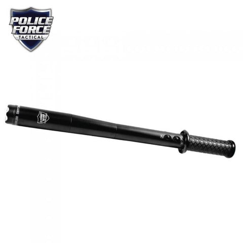 Police Force Tactical LED Stun Gun Baton 9M