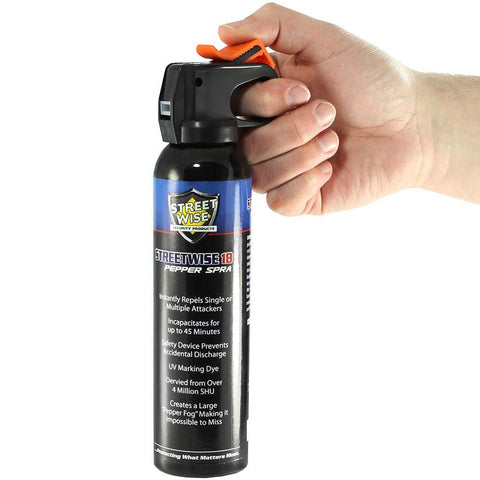 Streetwise 18 Fire Master Pepper Spray Fog 9 oz.