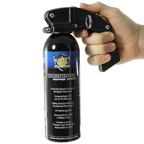 Streetwise™ 18 Pistol Grip Police Pepper Spray Fog 1 lb.