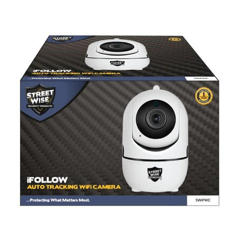 Streetwise™ iFollow Auto Tracking Camera 1080p HD WiFi