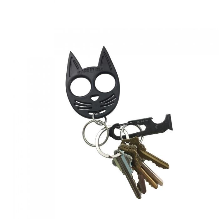 My Kitty Plastic Self Defense Keychain Weapon Black The Home