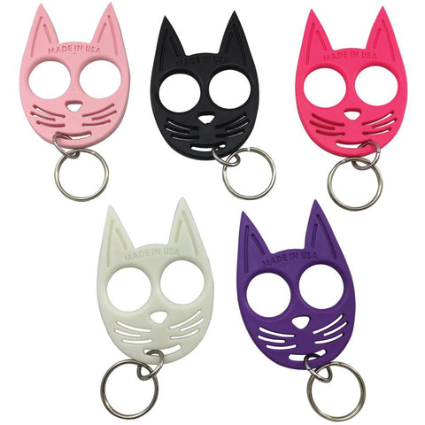 My Kitty Plastic Self-Defense Keychain Weapon Purple
