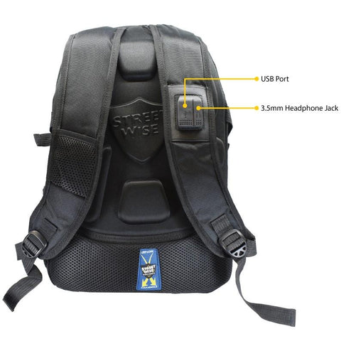 Streetwise™ Pro-Tec Level 3A Bulletproof Backpack Black