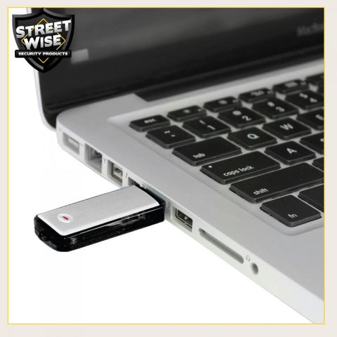 Streetwise USB Flash Drive Covert Voice Recorder 8GB