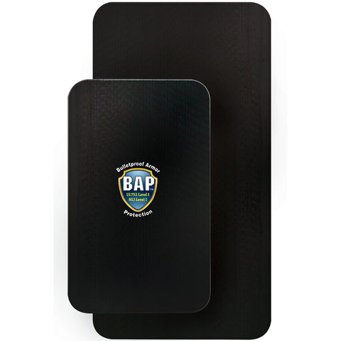 BAP™ Level 3 Bullet Resistant Backpack Ballistic Plate 8'' x 13''