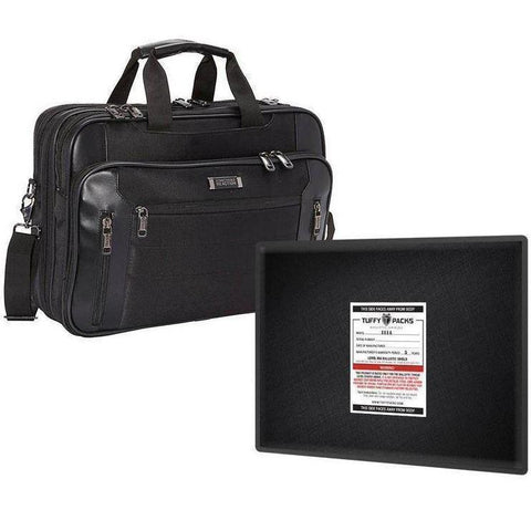 "TuffyPacks© Level 3A Bulletproof Briefcase Soft Armor Insert 11"" x 14"""
