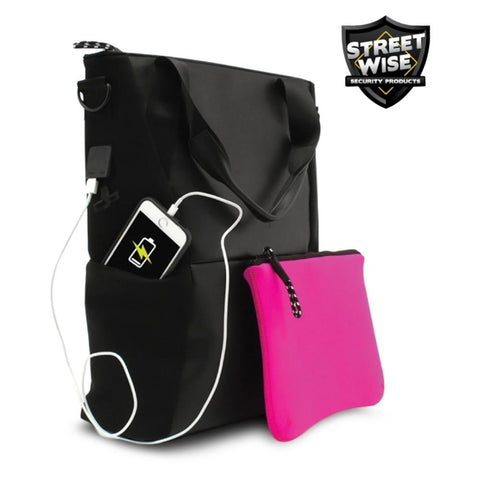 Streetwise™ Pro-Tech Bulletproof Women's Tote Bag