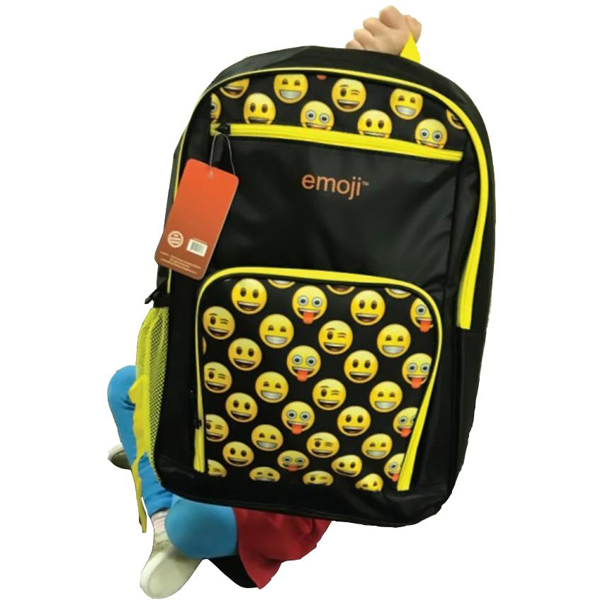 238a8fc81aed Streetwise™ Level 3A Bulletproof Emoji Backpack Yellow