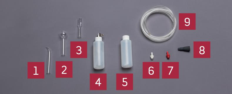Equipro - VAC-SPRAY ACCESSORIES - Essential basic functions