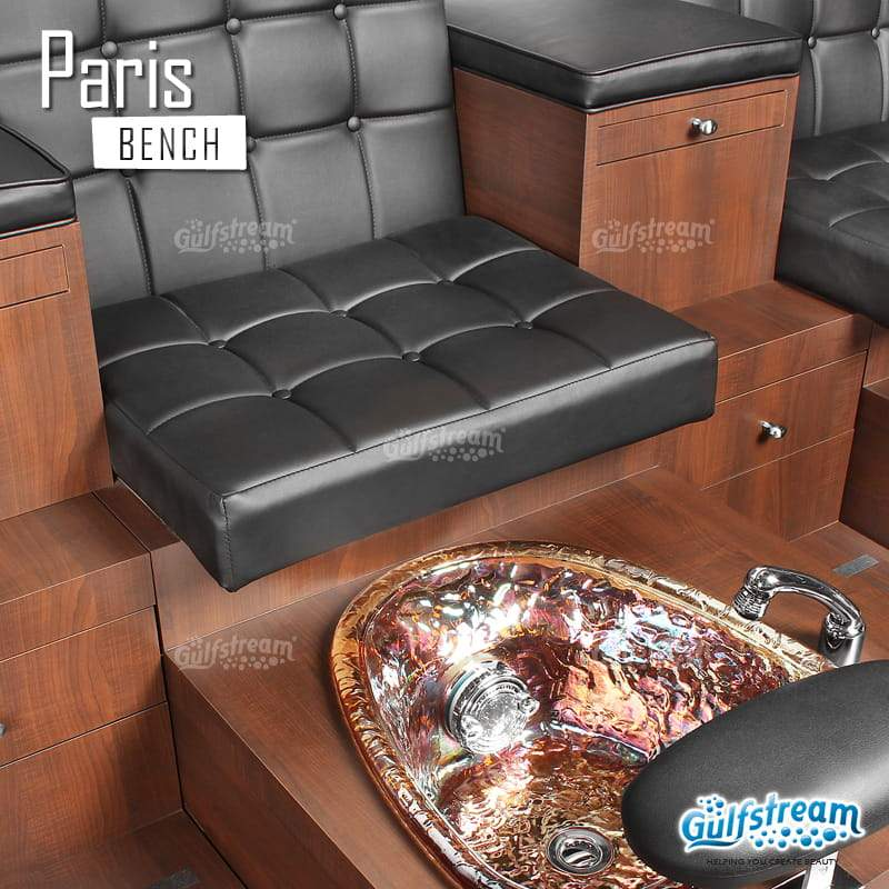 Gulfstream- Paris Triple Bench -Pedicure Spas